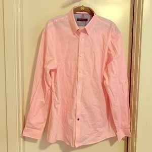 NWOT Tommy Hilfiger Pink Dress Shirt